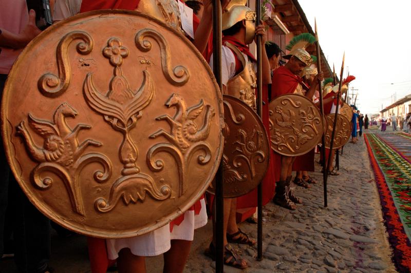 13 Roman Shields