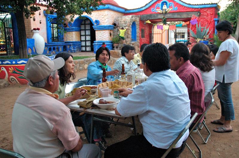 12 Modesto's Dinner Table