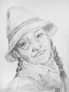 "Lugo's portrait ""girl"""