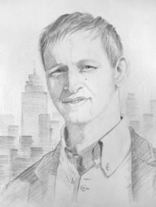 """Lugo's portrait """"Stoyan"""""""