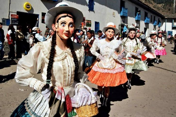 Peru VDC Masked Dancers