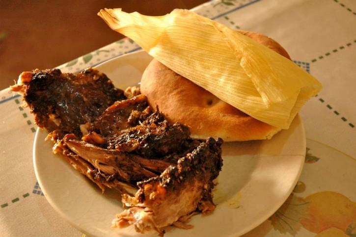 Peru VDC Roast Pork Sandwich