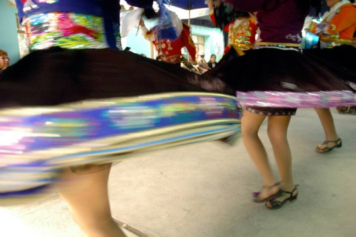 Peru VDC Swirling Dancers Detail